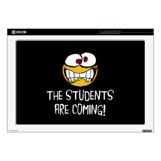 The Students Are Coming Laptop Skin