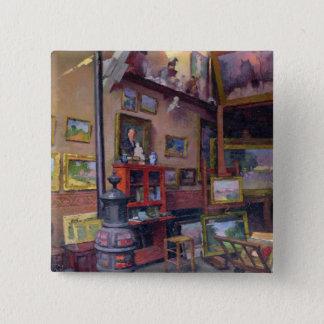 The Studio 50, rue Saint-Didier Pinback Button