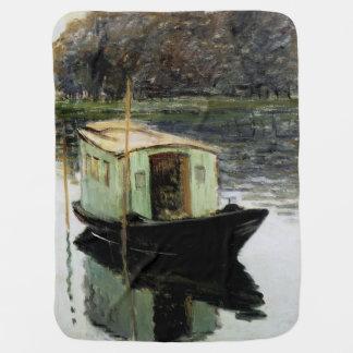 The Studio Boat Receiving Blanket