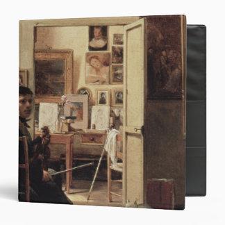 The Studio of Ingres in Rome, 1818 Binder