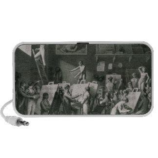 The Studio of Jacques Louis David Mini Speaker