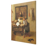 The Studious Life, 1662 Gallery Wrap Canvas