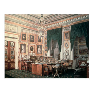 The Study of Alexander III  at Gatchina Palace Postcard