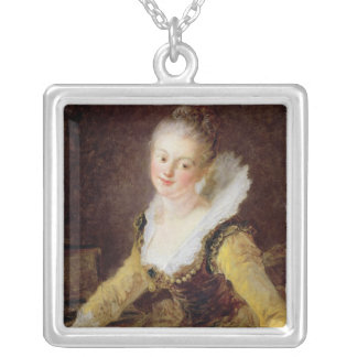 The Study, or The Song, c.1769 Personalized Necklace