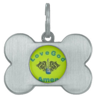 The stuff to get pet tag