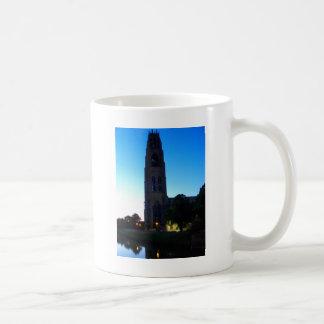 The Stump at Twilight Basic White Mug