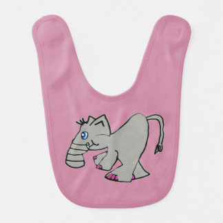 The Stumpy Nose Elephant Bib