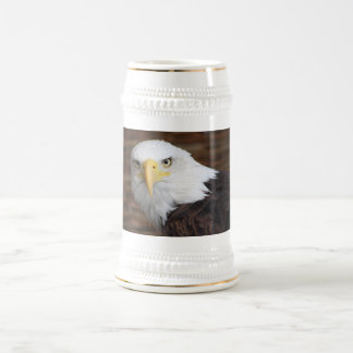 The Stunning Bald Eagle Beer Stein