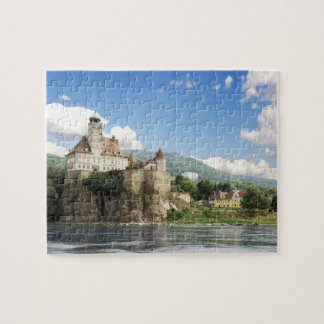 The stunning Schonbuhel Castle sits above the Jigsaw Puzzle