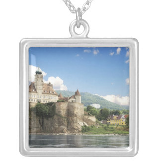 The stunning Schonbuhel Castle sits above the Square Pendant Necklace