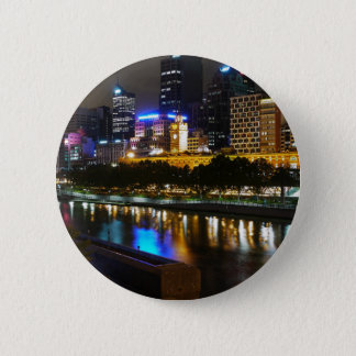 The Stunning Yarra And Melbourne Skyline at Night Button