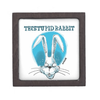 the stupid rabbit keepsake box