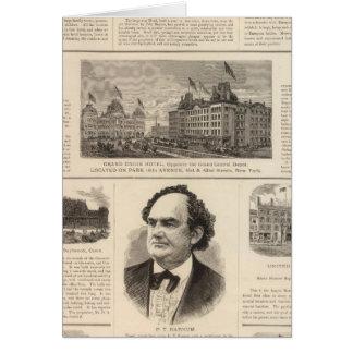 The Sturtevant House, New York Card