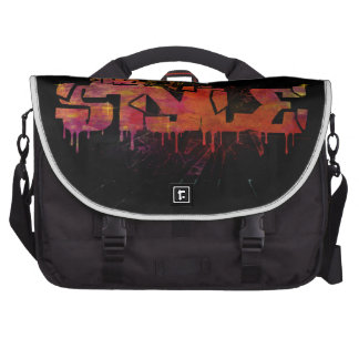 The style in colorful shattered glass bags for laptop
