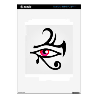 The stylized eye of Horus Skin For iPad 3