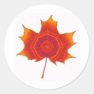 The Submissive Maple Classic Round Sticker