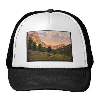 The suburbs, Eaux Bonnes, Pyrenees, France classic Trucker Hats