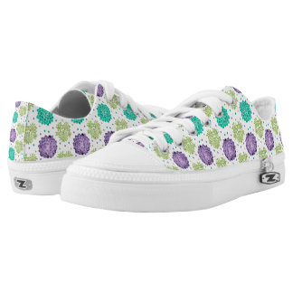 The Succulents Low-Top Sneakers