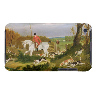The Suffolk Hunt - Going to Cover near Herringswel iPod Touch Case-Mate Case