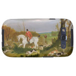 The Suffolk Hunt - Going to Cover near Herringswel Galaxy S3 Case