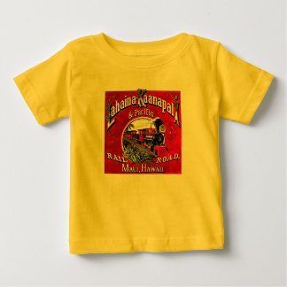 The Sugar Cane Train with Baldwin  Locomotives Baby T-Shirt