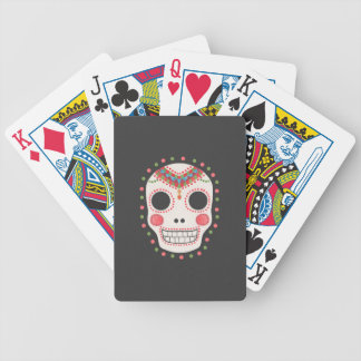 The Sugar Skull Bicycle Playing Cards