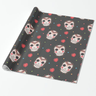 The Sugar Skull Pattern Printed on Merchandise Illustration by Haidi Shabrina