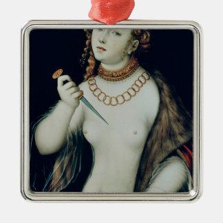 The Suicide of Lucretia, 1538 Ornament
