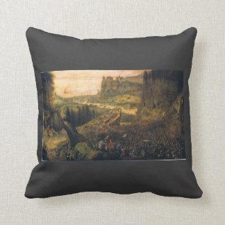 The Suicide of Saul by Pieter Bruegel the Elder Throw Pillow