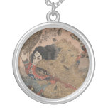 The Suikoden One of 108 Brave Warriors Round Pendant Necklace