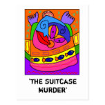 'the suitcase murder' post cards