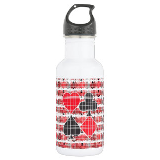 The suits. stainless steel water bottle