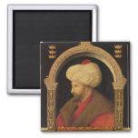 The Sultan Mehmet II  1480 Fridge Magnets