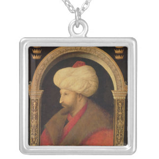 The Sultan Mehmet II  1480 Silver Plated Necklace