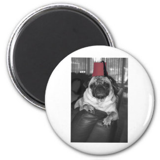 The Sultan of Sofa 2 Inch Round Magnet