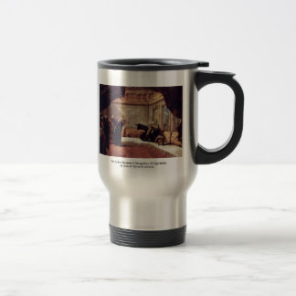 The Sultan Receives A Delegation Of Dignitaries 15 Oz Stainless Steel Travel Mug