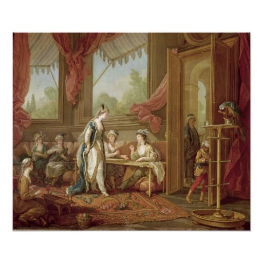 The Sultana Ordering Tapestries Poster