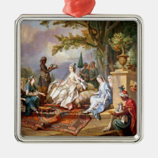 The Sultana Served by her Eunuchs Metal Ornament