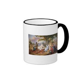 The Sultana Served by her Eunuchs Ringer Coffee Mug