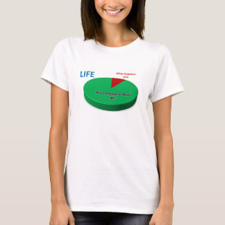 The Summation of Life: Pie Chart T-Shirt