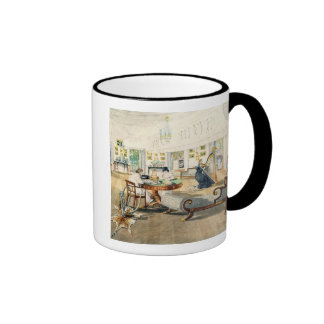 The Summer Room in the Artist's House at Patna, In Ringer Mug