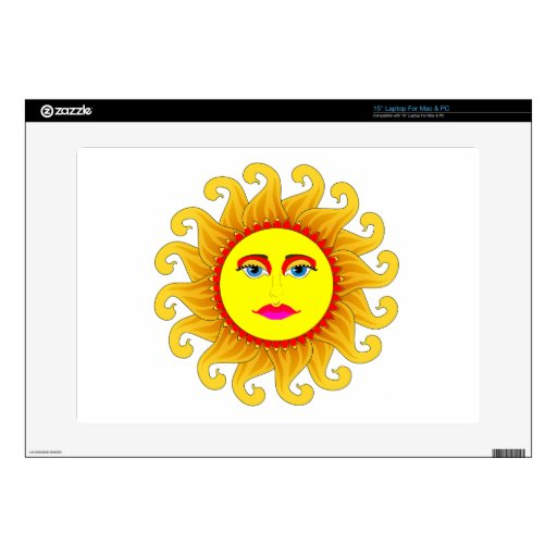 the summer solstice laptop decal