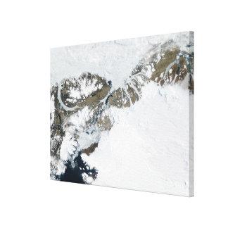 The summer thaw canvas print