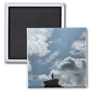 The Summit 2 Inch Square Magnet