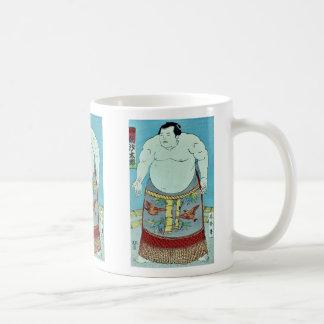 The sumo wrestler Asashio Taro Ukiyoe Mug