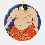 The Sumo Wrestler, Kuniyoshi Utagawa Ornament