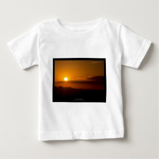 The sun 003 - Sunset at the mountains Baby T-Shirt