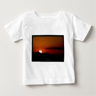 The sun 004 - Sunset at the mountains Baby T-Shirt