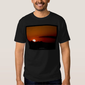 The sun 004 - Sunset at the mountains Tshirts
