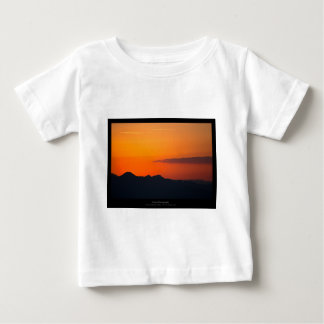 The sun 005 - Sunset at the mountains Baby T-Shirt
